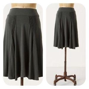 Anthropologie Fei S Dark green Go Anywhere skirt